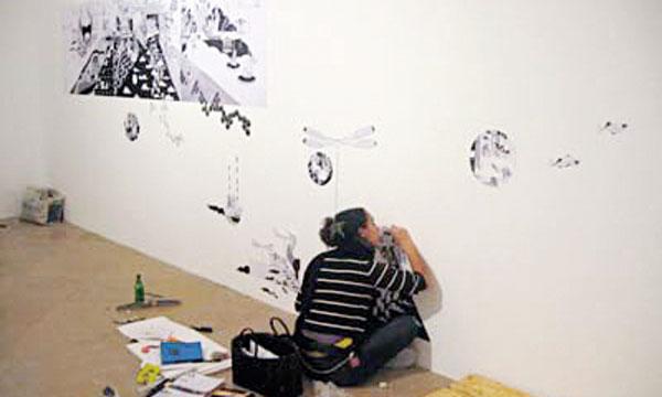 Les œuvres de Chourouk Hriech attestent la maturité de l'artiste.