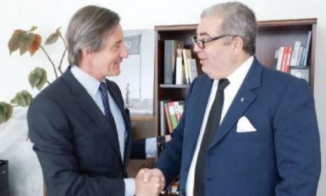 Khalil Hachimi Idrissi s'entretient avec le sg adjoint des Nations unies chargé de l'information