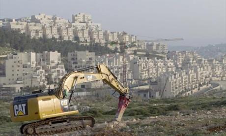 Gel des projets de construction palestiniens