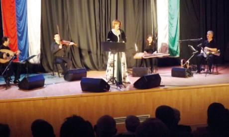 Samira Kadiri subjugue le public  de Ramallah et Bayt Lahm