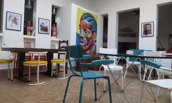 L'art de la Halka sera aussi présenté au café de Marrakech.