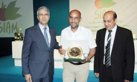 Remise des prix aux gagnants du concours national de la qualité de l'huile d'olive vierge