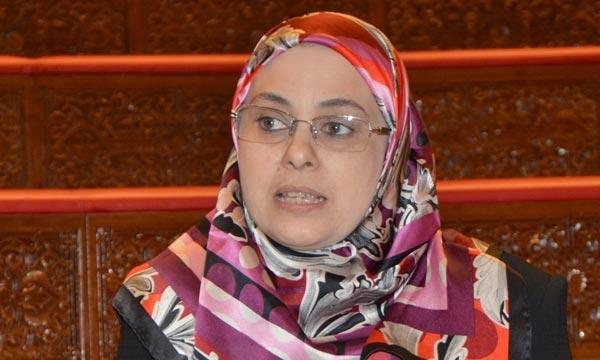 Soumia Benkhaldoun, ministre déléguée auprès du ministre de l'Enseignement supérieur, de la Recherche scientifique et de la Formation des cadres. Ph : Hihi