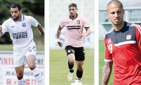 Le trio Da Costa-Aït Ben Idir-Lazaar est la nouveauté de la sélection nationale.