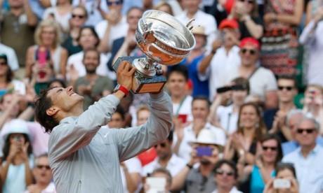 Et de neuf pour l'invincible Rafael Nadal