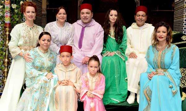 S.M. le Roi préside la cérémonie de conclusion de l'acte de mariage de S.A.R. le Prince Moulay Rachid avec Mademoiselle Oum Keltoum Boufarès