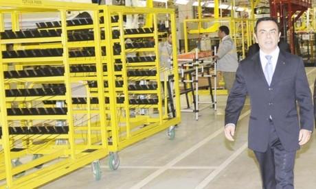 Le PDG Carlos Ghosn satisfait de l'implantation de son Groupe au Maroc