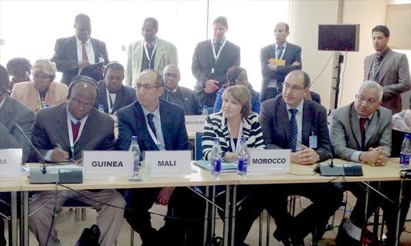 La ministre déléguée chargée de l'Environnement, Hakima El Haïti, représente à Nairobi, le Maroc à la première session de l'Assemblée des Nations unies pour l'environnement (Unea), qui se tient au siège de l'Onu. Ph : MAP