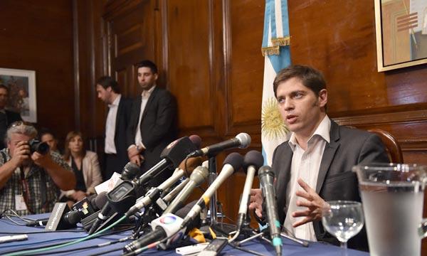 «Les fonds spéculatifs ont essayé de nous imposer quelque chose d'illégal. L'Argentine est prête à dialoguer. Nous allons chercher une solution juste, équilibrée et légale pour 100% de nos créanciers», a dit Axel Kicillof, ministre de l'Economie. Ph