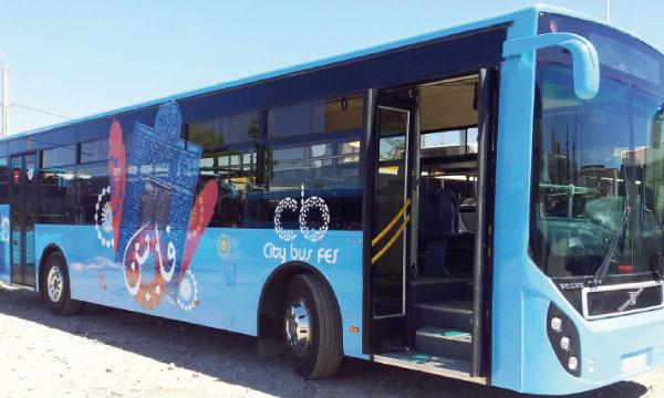Les bus dotés d'un nouveau système d'aide à l'exploitation
