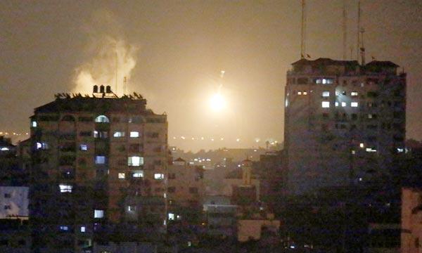L'opération de Tsahal de l'armée israélienne a lieu du nord au sud de la bande de Gaza, des très nombreuses forces ont été déployées. Ph : AFP
