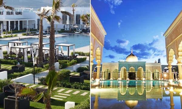 Le Sofitel Thalassa Sea & Spa à Agadir et le Palais Namaskar à Marrakech, deux joyaux de l'hôtellerie marocaine de très haut de gamme. Ph : DR