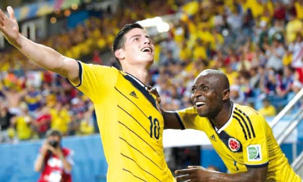 Le montant du transfert de James Rodriguez est estimé à environ 80 millions d'euros.