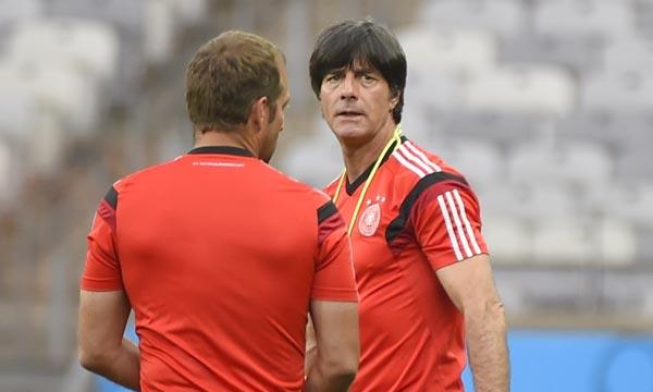 «Le Brésil va jouer avec 200 millions de personnes en soutien, pas seulement avec tout un stade», estime Joachim Löw, sélectionneur allemand. Ph : AFP