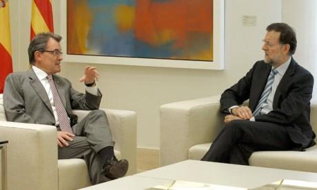 Mariano Rajoy va rencontrer Artur Mas