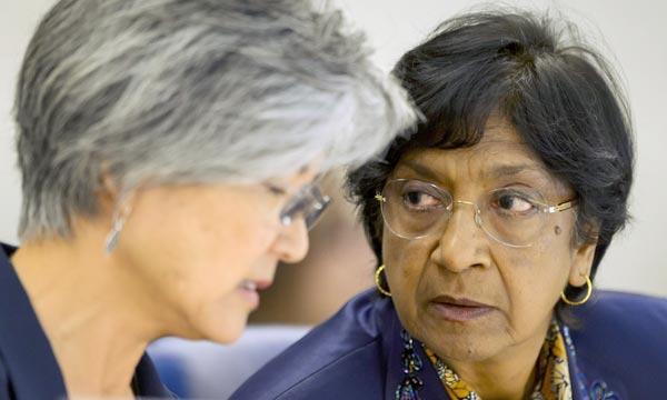 La responsable onusienne affirme qu'il y a une forte possibilité que le droit international humanitaire ait été violé à Gaza. Ph : AFP