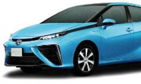 Toyota dévoile les lignes extérieures de sa berline à pile à combustible hydrogène