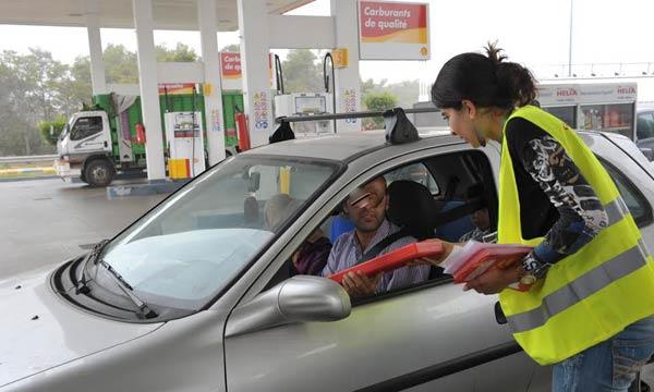 10 000 automobilistes sont concernés par cette campagne de sensibilisation.