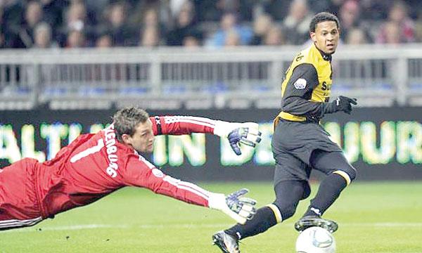 Fouad Idabdelhay, ici sous le maillot du NAC Breda, devrait suivre une phase de préparation spécifique avant de rejoindre le groupe qui dispute le championnat national.