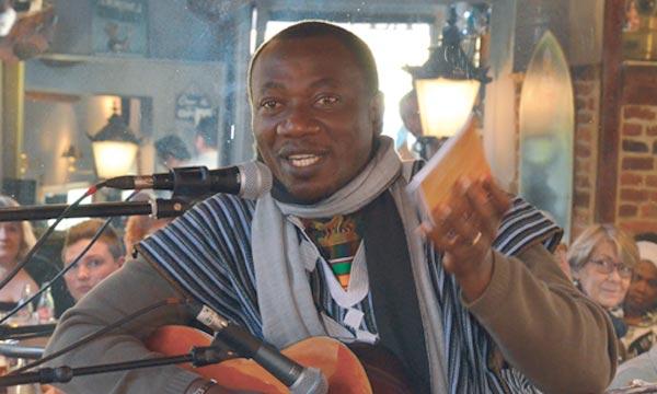 Le poète ivoirien Josué Guébo a remporté le Prix de poésie Tchicaya U Tam'si 2014 pour son recueil «Songe à Lampedusa». Ph : ville-seclin.fr