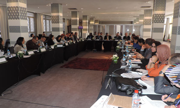 L'atelier de travail tenu par l'Instance centrale de prévention de la corruption et l'Institution du Médiateur.