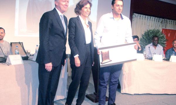 Le Prix «la Mamounia» 2014 décerné à Reda Dalil