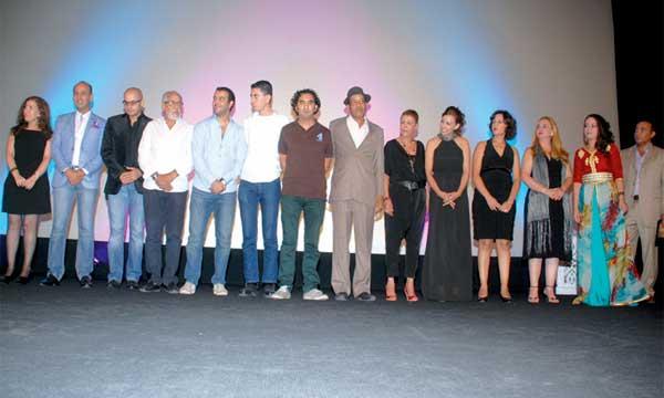 L'équipe du film «les Feuilles mortes» de Younes Reggab.Ph. Kartouch