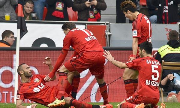 Le dernier face à face avec le Werder ne remonte qu'à la dernière journée de l'exercice 2013-2014, un match remporté 2-1 qui avait permis à Leverkusen d'assurer sa 4e place et les barrages de la C1. Ph : sportsmole.co.uk
