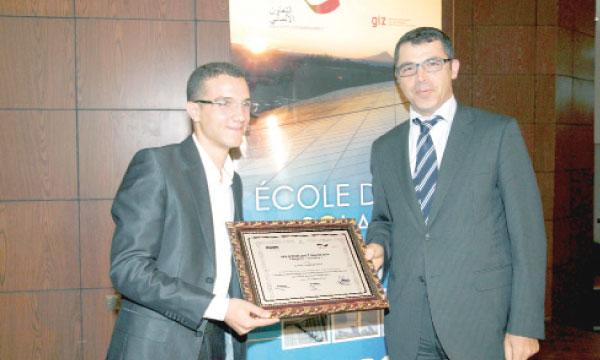 Le Prix du projet industriel remis au vainqueur.