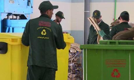 Création d'une unité pour le  recyclage des déchets ménagers