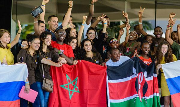 Le Maroc en Chine pour  la World Cup  Enactus
