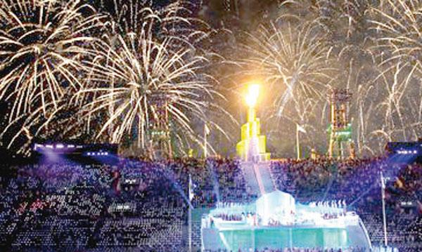 La cérémonie d'ouverture de la 12e édition des jeux panarabes à Doha. Ph. Archives