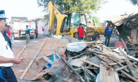 Le boulevard Achouhada débarrassé  des marchands ambulants