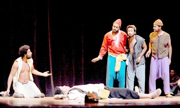 La 7e édition des Rencontres internationales de théâtre de Marrakech accueille une pléiade d'artistes de la scène. Ph : MAP