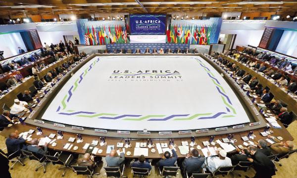 US African Leaders Summit• Annonce de la tenue du GES au Maroc. Après l'Asie où s'est tenu le dernier GES, cette importante conférence internationale, initiée par le Président Obama, se devait d'aller en Afrique qui reste un continent très prometteur