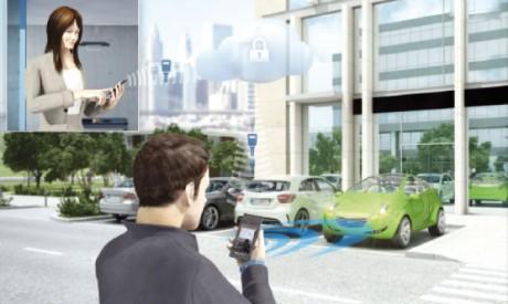 Valeo présente InBlue, la clé intelligente sur smartphone