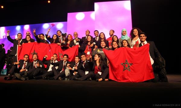 Le projet marocain gagnant permet la fabrication et commercialisation de produits de purification d'eau. (Ph. Enactus)
