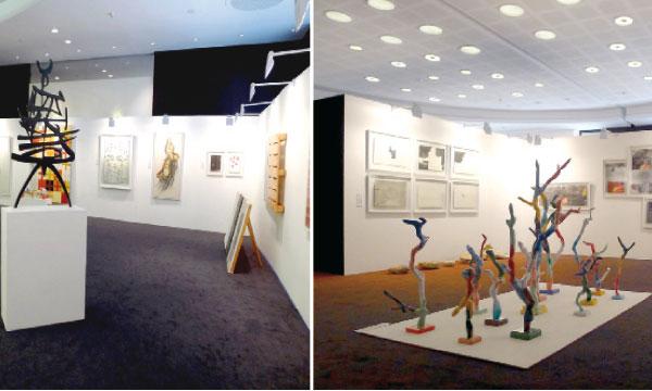 Les amateurs de l'art contemporain ont apprécié, dix jours durant, des œuvres originales, dont 98% ont été réalisées in situ à la Résidence Iffitry d'Essaouira.