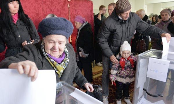 La Slovaquie a rejeté les élections organisées dimanche par les républiques autoproclamées de Donetsk et de Lougansk dans le Donbass, Est de l'Ukraine et remportées par les dirigeants rebelles. Ph : fr.ria.ru