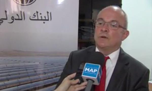 «Le Maroc a déjà jeté les bases d'une croissance durable et propre en s'érigeant en modèle dans la région MENA». Simon Gray, directeur du département Maghreb du Groupe de la BM. Ph : MAP