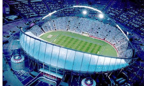 Le matin le qatar d voile ryad la maquette d 39 un 3e stade - Stade coupe du monde 2022 ...