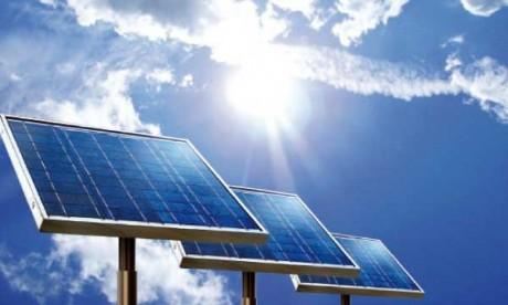 Le détail de la feuille de route  pour le photovoltaïque