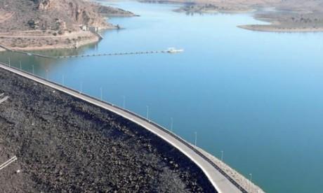 Les barrages remplis à hauteur de 72,3%