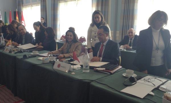 Le ministre du Tourisme, Lahcen Haddad, participant à Lisbonne aux travaux de la 3e Conférence de la Méditerranée occidentale des ministres du Tourisme du «Dialogue 5+5». Ph : tourismapost.com