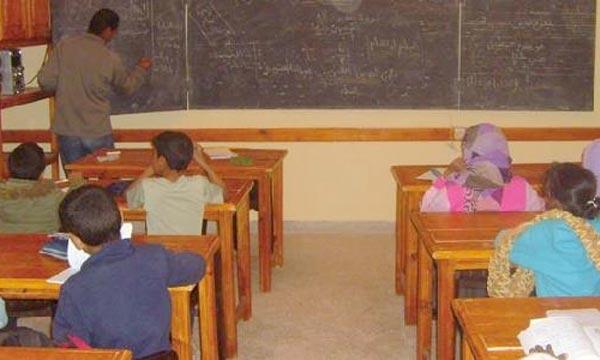 Des actions seront destinées à la réhabilitation des établissements scolaires endommagés par les crues, puisque ces inondations n'ont pas provoqué d'effondrements. Ph : marocpress.com