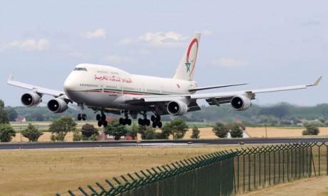 Royal Air Maroc enregistre une hausse de 20%