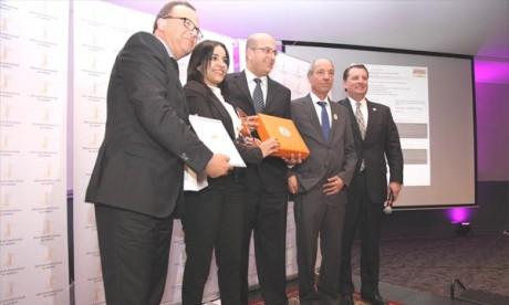 Cérémonie de remise des trophées à Casablanca