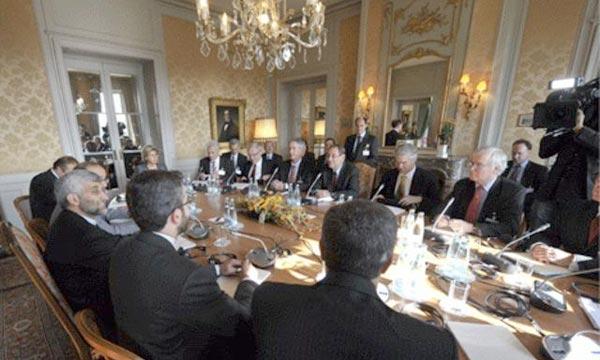 Des pourparlers de Genève sur le nucléaire iranien à la Villa de Saugy, à Genthod. Les grandes puissances et l'Iran, vont se rencontrer, à Genève, pour tenter de sceller d'ici au 1er juillet 2015 un accord général sur le programme nucléaire. Ph : tdg