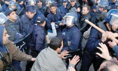 L'opposition manifeste  à Alger malgré le quadrillage sécuritaire
