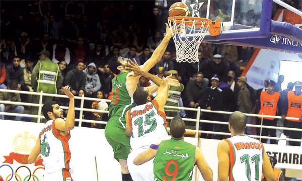 La défense homme à homme adoptée par le team national a gêné son vis-à-vis algérien.